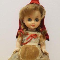 Otras Muñecas de Famosa: MUÑECA CHIQUITINA CAPERUCITA DE FAMOSA PRIMER MODELO 1962. Lote 155512082