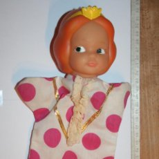 Otras Muñecas de Famosa - PRINCESA *** ANTIGUO MUÑECO GUIÑOL / TÍTERE DE GOMA Y TELA *** MARCA FAMOSA - 156049398