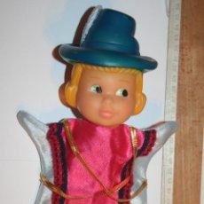 Otras Muñecas de Famosa: PRINCIPE *** ANTIGUO MUÑECO GUIÑOL / TÍTERE DE GOMA Y TELA *** MARCA FAMOSA. Lote 156049466