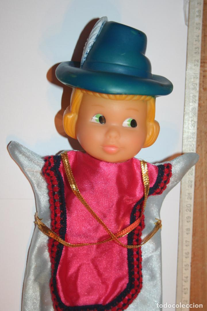Otras Muñecas de Famosa: PRINCIPE *** ANTIGUO MUÑECO GUIÑOL / TÍTERE DE GOMA Y TELA *** MARCA FAMOSA - Foto 2 - 156049466