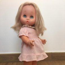 Otras Muñecas de Famosa: MUÑECA CAROL DE FAMOSA RUBIA OJOS AZUL MARGARITA AÑOS 70 EPOCA NANCY LEER. Lote 156665732