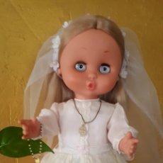 Otras Muñecas de Famosa: CAROL DE FAMOSA AÑOS 60 DE COMUNIÓN TODO ORIGINAL. Lote 157915188