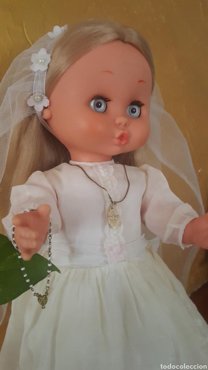 Otras Muñecas de Famosa: Carol de famosa años 60 de comunión todo original - Foto 2 - 157915188