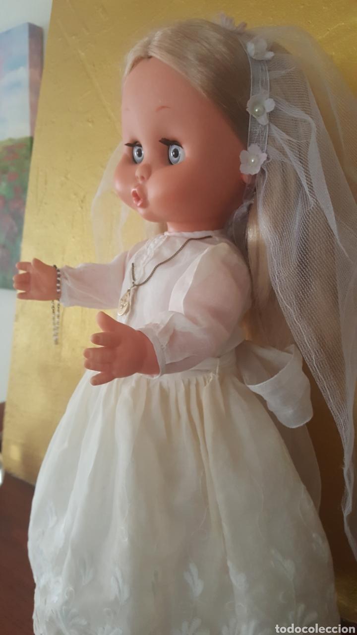 Otras Muñecas de Famosa: Carol de famosa años 60 de comunión todo original - Foto 3 - 157915188
