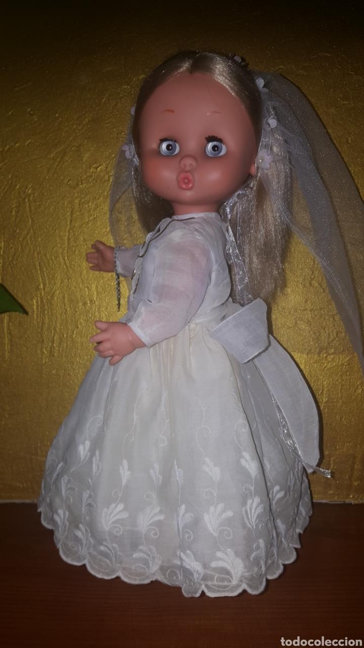 Otras Muñecas de Famosa: Carol de famosa años 60 de comunión todo original - Foto 4 - 157915188