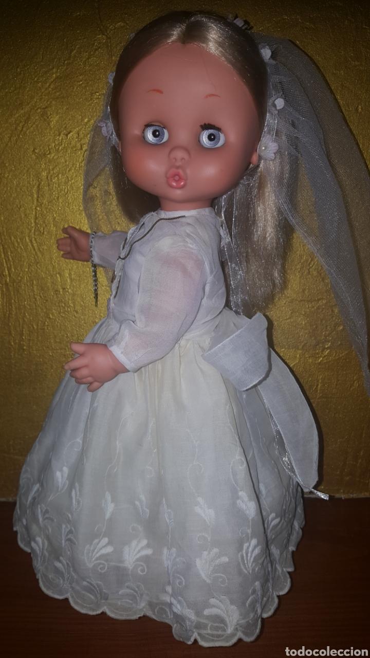 Otras Muñecas de Famosa: Carol de famosa años 60 de comunión todo original - Foto 5 - 157915188