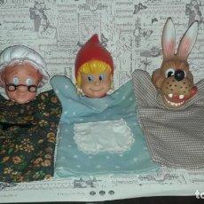 Otras Muñecas de Famosa: MARIONETAS DE FAMOSA. Lote 158002834