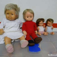 Otras Muñecas de Famosa: 5 - LOTE DE 4 MUÑECAS FAMOSA. Lote 158018794