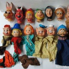 Otras Muñecas de Famosa: LOTE DE 13 MARIONETAS DE FAMOSA DE DIFERENTES CUENTOS.. Lote 158681214