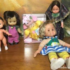 Otras Muñecas de Famosa: LOTE MUÑECAS FLORIDO JESMAR FAMOSA PARA COLECCIÓN. Lote 159152962