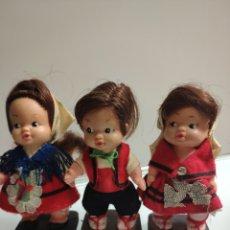 Otras Muñecas de Famosa: MUÑECAS ANTIGUAS CON TRAJES REGIONALES TIN TAN DE FAMOSA. Lote 159805834