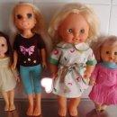Otras Muñecas de Famosa: MUÑECAS-LOTE DE 4 -DOS DE ELLAS DE FAMOSA-VENDO LOTE ENTERO. Lote 160507590