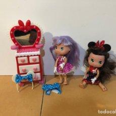 Otras Muñecas de Famosa: MUÑECA I LOVE MINNIE 2 MUÑECAS Y ACCESORIOS MICKEY MOUSE DE FAMOSA. Lote 160524934