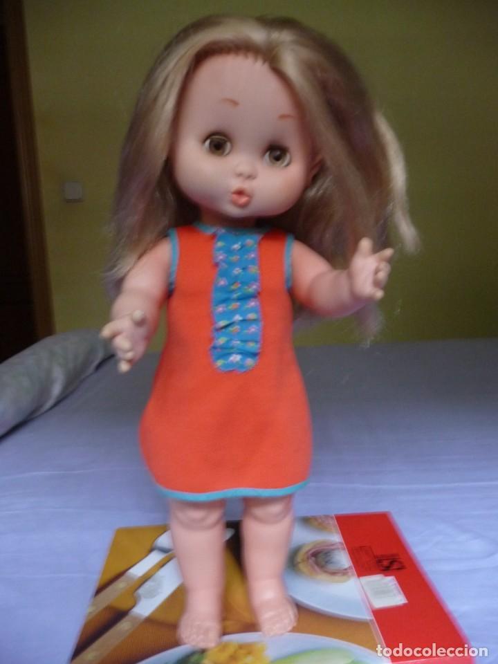 Otras Muñecas de Famosa: Muñeca Carol de famosa rubia ojos marron margarita años 70 epoca nancy - Foto 2 - 160640110