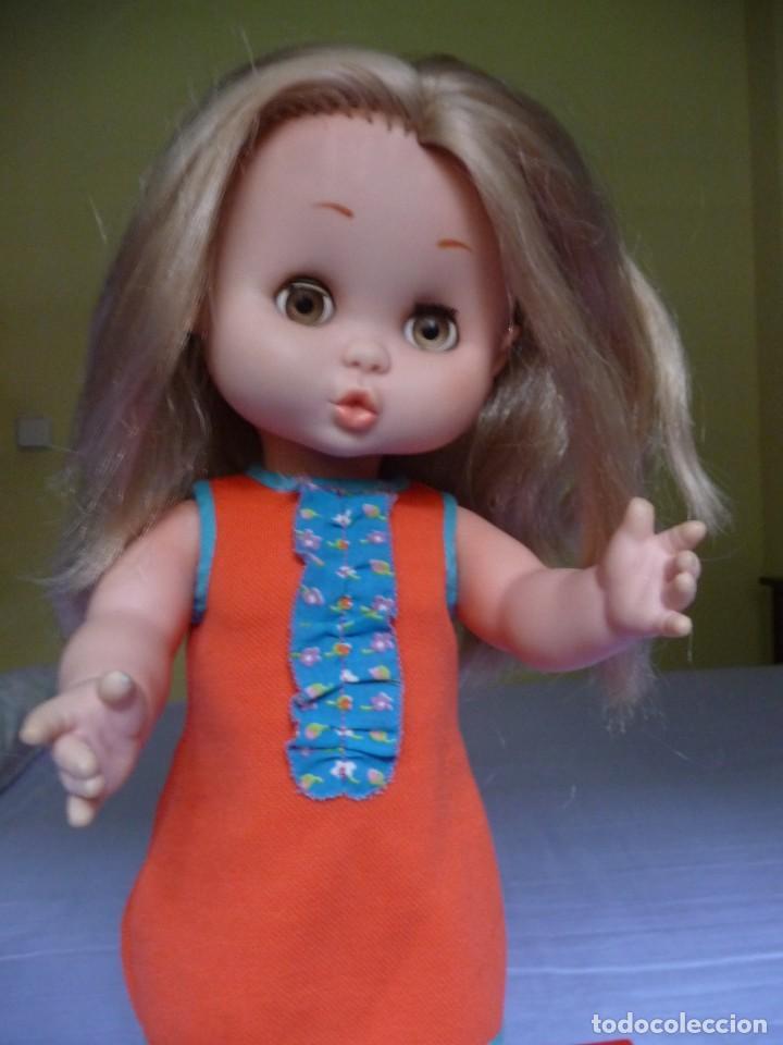 Otras Muñecas de Famosa: Muñeca Carol de famosa rubia ojos marron margarita años 70 epoca nancy - Foto 3 - 160640110