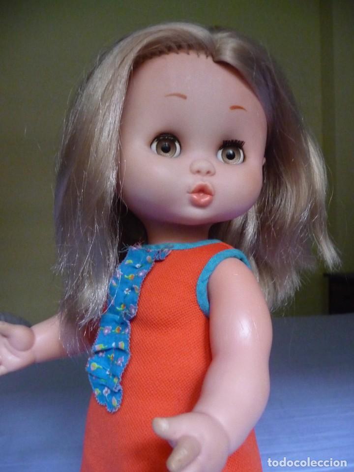 Otras Muñecas de Famosa: Muñeca Carol de famosa rubia ojos marron margarita años 70 epoca nancy - Foto 8 - 160640110