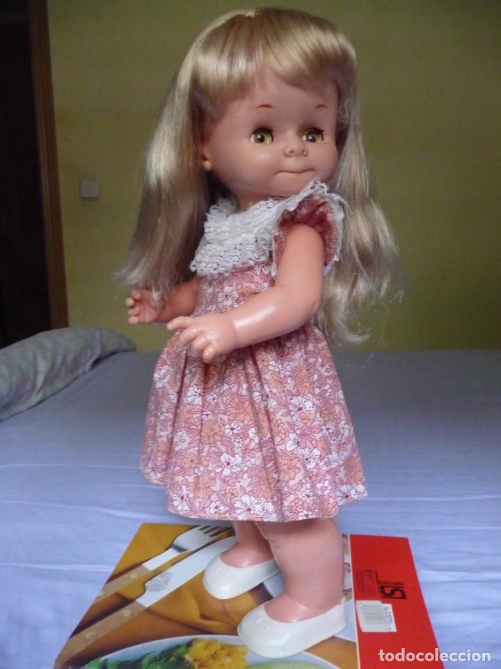 Otras Muñecas de Famosa: Muñeca graciosa de famosa rubia ojos marron margarita muy dificil epoca nancy - Foto 7 - 160640690