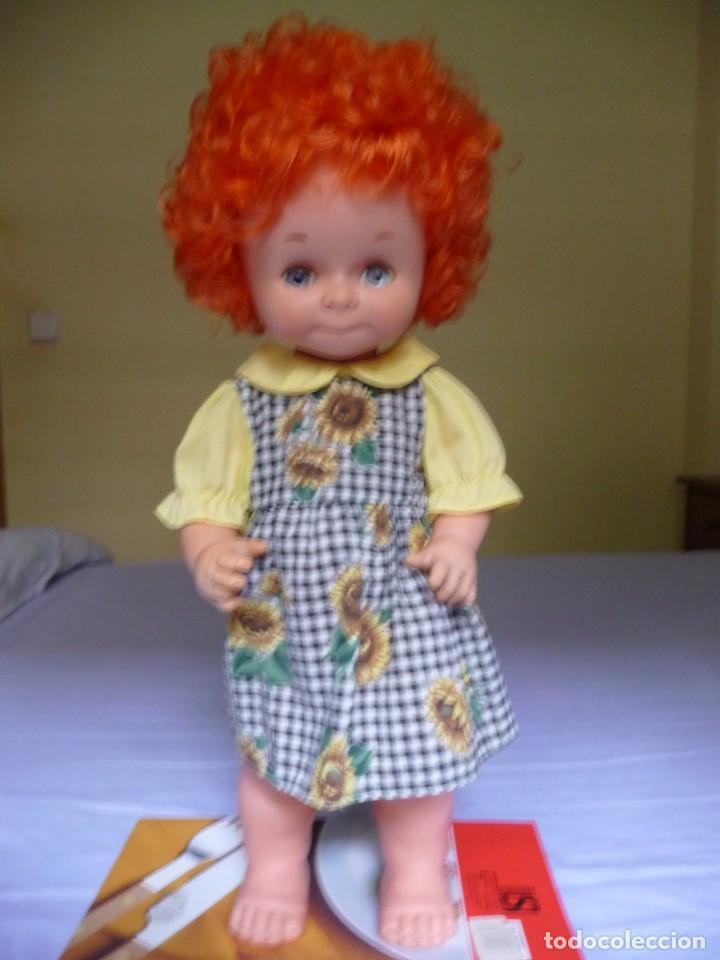 Otras Muñecas de Famosa: Dificilisma muñeca graciosa de famosa pelirroja pelo rizado origen epoca nancy ojos azul margarita - Foto 2 - 160640974