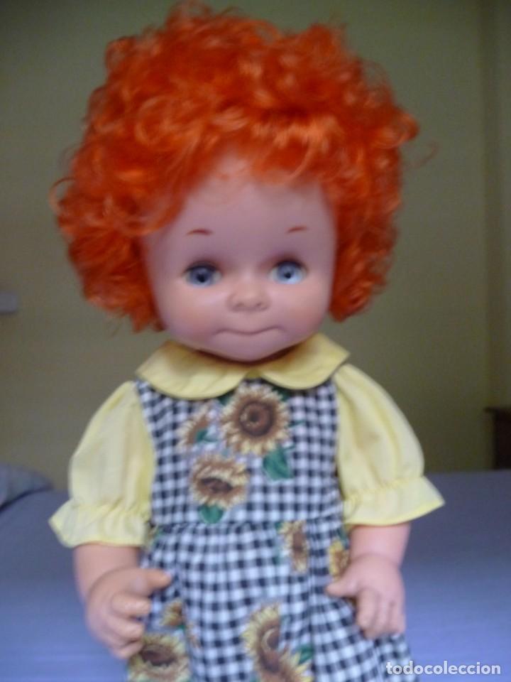 Otras Muñecas de Famosa: Dificilisma muñeca graciosa de famosa pelirroja pelo rizado origen epoca nancy ojos azul margarita - Foto 4 - 160640974