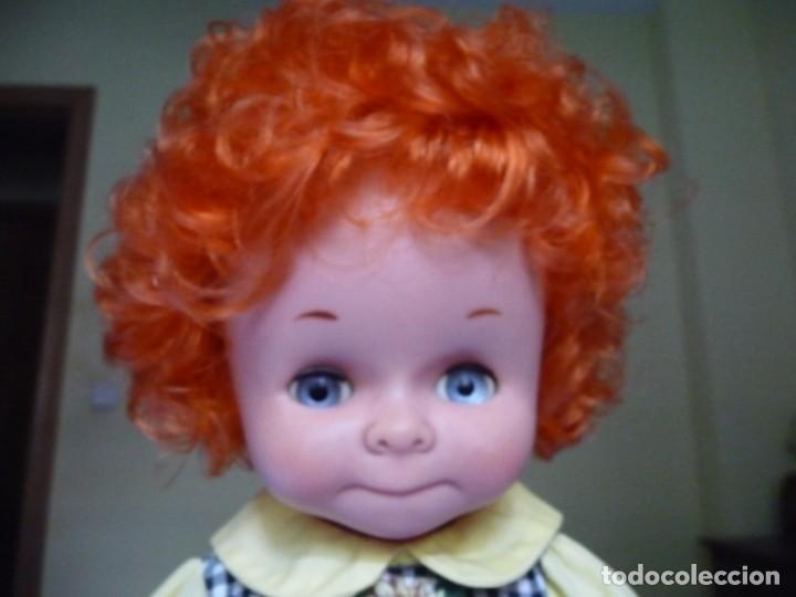 Otras Muñecas de Famosa: Dificilisma muñeca graciosa de famosa pelirroja pelo rizado origen epoca nancy ojos azul margarita - Foto 5 - 160640974