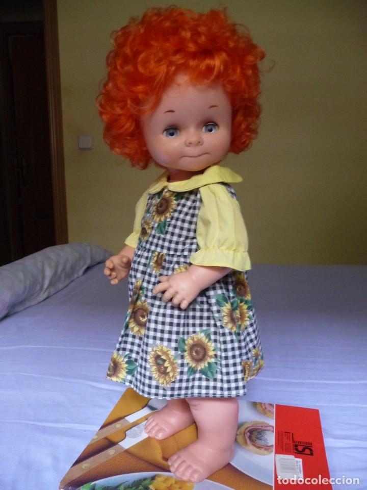 Otras Muñecas de Famosa: Dificilisma muñeca graciosa de famosa pelirroja pelo rizado origen epoca nancy ojos azul margarita - Foto 7 - 160640974