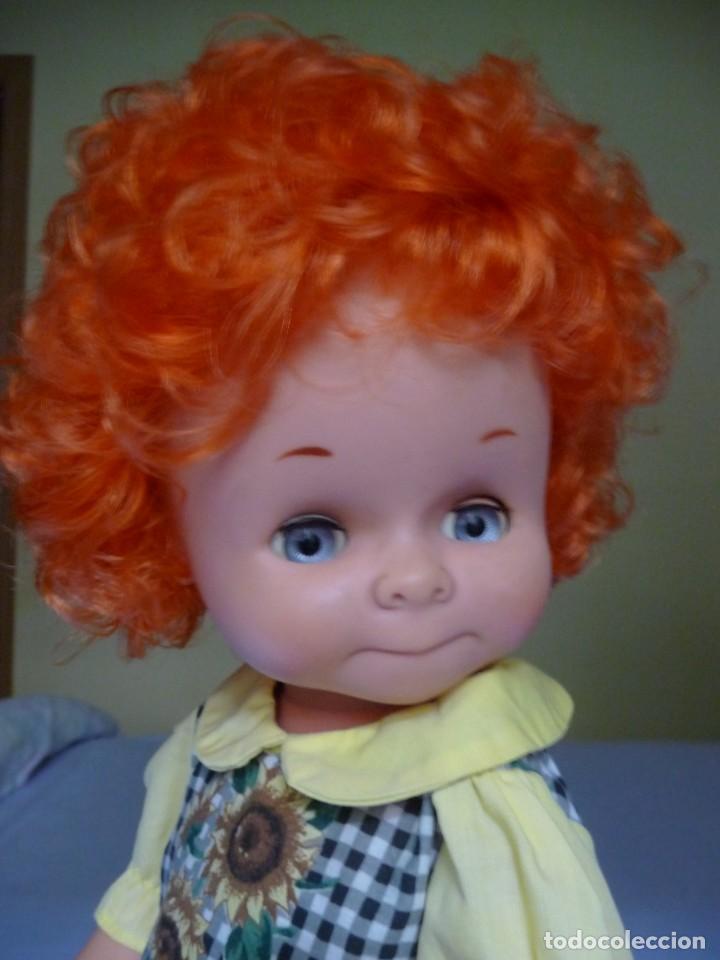 Otras Muñecas de Famosa: Dificilisma muñeca graciosa de famosa pelirroja pelo rizado origen epoca nancy ojos azul margarita - Foto 9 - 160640974