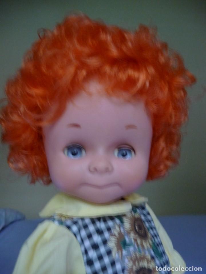 Otras Muñecas de Famosa: Dificilisma muñeca graciosa de famosa pelirroja pelo rizado origen epoca nancy ojos azul margarita - Foto 12 - 160640974