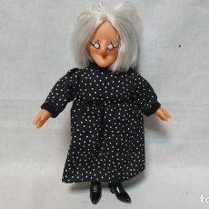 Otras Muñecas de Famosa: MUÑECA BRUJA MALA ABURRIDA DE LAS MELLIZAS DE FAMOSA. Lote 194533263