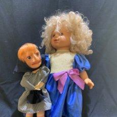 Otras Muñecas de Famosa: MUÑECA DE FAMOSA, MARI CARMEN Y DOÑA ROGELIA. MEDIADOS DE LOS 70. PARA RECAMBIOS. Lote 165203168