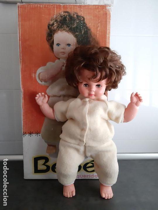 PRECIOSO BEBE QUERIDO FAMOSA AÑOS 60 -EN CAJA- (Juguetes - Muñeca Española Moderna - Otras Muñecas de Famosa)