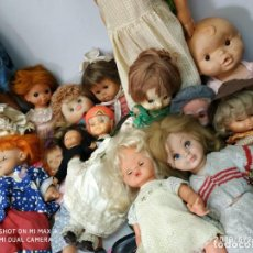Otras Muñecas de Famosa: LOTE DE MUÑECAS VIEJAS ANTIGUAS VINTAGE COLECCION. Lote 169327756