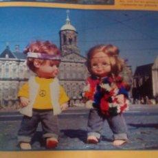 Otras Muñecas de Famosa: CHATÍN Y CHATINA ''HOLANDESES'' Y LA REVISTA ''ARIADNE''. Lote 135573526