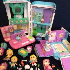 Otras Muñecas de Famosa: LOTE DE MUÑECOS PIN Y PON ACTUALES,CENTRO CANINO Y AMBULANCIA CON MUCHOS COMPLEMENTOS Y 7 MUÑECAS. Lote 171142670