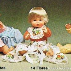 Outras Bonecas da Famosa: NENUCO - CONJUNTO FLORES, DE LOS 70, MUY BIEN CONSERVADO.. Lote 151556374