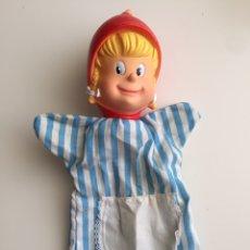 Otras Muñecas de Famosa: MARIONETA CAPERUCITA ROJA. Lote 171270885