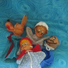 Otras Muñecas de Famosa: LOTE MARIONETAS O TITERES DE MANO, DE FAMOSA. Lote 172873525