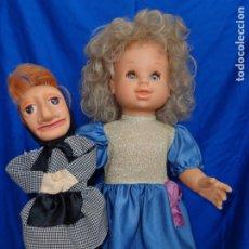 Otras Muñecas de Famosa: FAMOSA - GRACIOSA MUÑECA MARICARMEN Y SUS MUÑECOS MIDE UNOS 50 CM, VER FOTOS Y DESCRIPCION! SM. Lote 173030840
