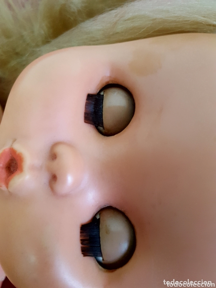 Otras Muñecas de Famosa: MUÑECA CAROL DE FAMOSA DE LAS PRIMERAS!! AÑOS 60 OJOS AZUL MARGARITA - Foto 5 - 173331842