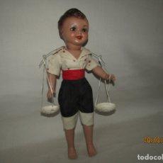 Otras Muñecas de Famosa: ANTIGUO MUÑECO EN CELULOIDE * PESCAILLA * DE FAMOSA - AÑO 1950S.. Lote 173389669