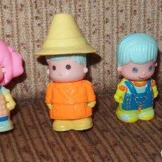 Otras Muñecas de Famosa: 4 MUÑECOS DE PINYPON,DE FAMOSA. Lote 173472369