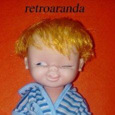 Otras Muñecas de Famosa: PEQUEÑO MUÑECO DE FAMOSA AÑOS 60/70 *TUNANTE CON CARITA BURLONA*. Lote 173477955