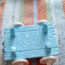 Otras Muñecas de Famosa: PIN Y PON (PINYPON) ACCESORIO SUPERMERCADO CASA GRANDE CARRO MEDIEVAL. Lote 174174354