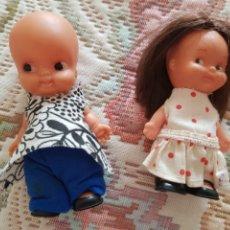 Otras Muñecas de Famosa: PAREJA DE MUÑECOS TINTAN DE FAMOSA. Lote 174249782