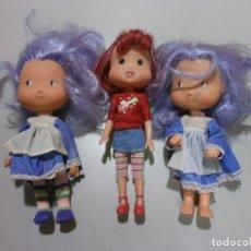 Otras Muñecas de Famosa: LOTE DE MUÑECAS TARTA DE FRESA. Lote 175044374