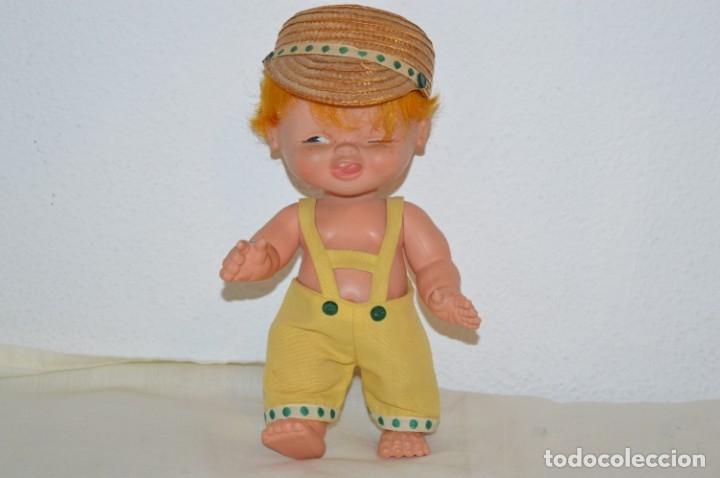 TUNANTE / ANTIGUO MUÑECO DE FAMOSA - AÑOS 70 - ¡PRECIOSO! ¡MIRA FOTOGRAFÍAS/DETALLES! (Juguetes - Muñeca Española Moderna - Otras Muñecas de Famosa)