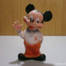 Otras Muñecas de Famosa: DIFICIL FIGURA DE GOMA MICKEY MOUSE DE FAMOSA OFICIAL DE WALT DISNEY UNICO EN TODOCOLECCION. Lote 176273612