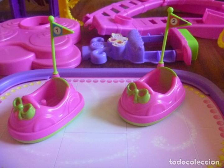 Otras Muñecas de Famosa: GRAN LOTE PIN Y PON PARQUE ATRACCIONES AUTO CHOQUE NORIA MÁS REGALO MUÑECAS Y MASCOTA RANA - Foto 3 - 177041187