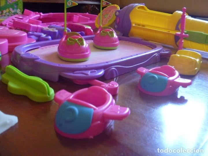 Otras Muñecas de Famosa: GRAN LOTE PIN Y PON PARQUE ATRACCIONES AUTO CHOQUE NORIA MÁS REGALO MUÑECAS Y MASCOTA RANA - Foto 8 - 177041187