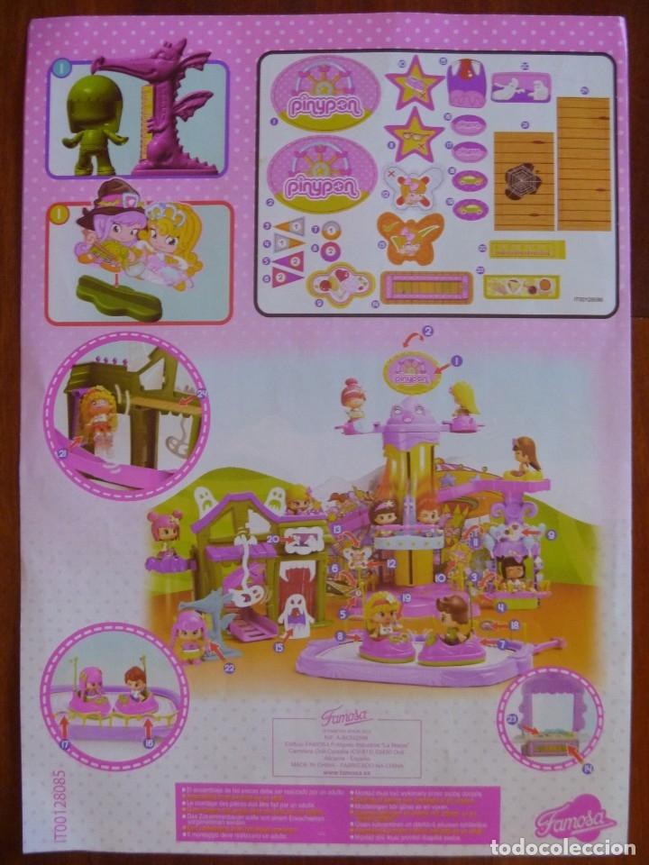 Otras Muñecas de Famosa: GRAN LOTE PIN Y PON PARQUE ATRACCIONES AUTO CHOQUE NORIA MÁS REGALO MUÑECAS Y MASCOTA RANA - Foto 14 - 177041187