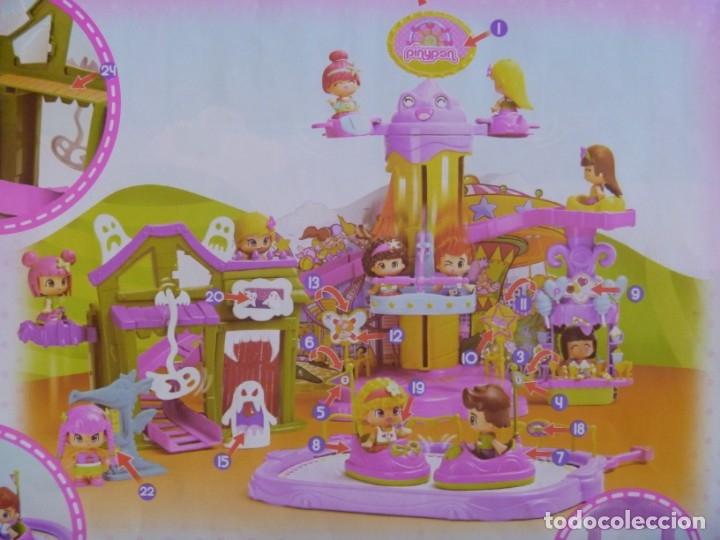 Otras Muñecas de Famosa: GRAN LOTE PIN Y PON PARQUE ATRACCIONES AUTO CHOQUE NORIA MÁS REGALO MUÑECAS Y MASCOTA RANA - Foto 15 - 177041187
